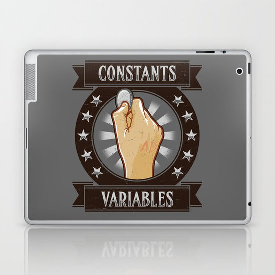 Constants & Variable Laptop & iPad Skin