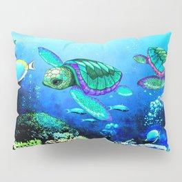 Sea Turtles Dance Pillow Sham