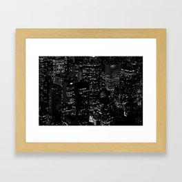 skyscrapers Framed Art Print