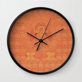 Tibetian Myriad Amitayus the Buddha of Eternal Life (ca 1800) Wall Clock