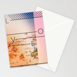 Santorini Love Stationery Cards