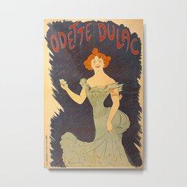 Vintage poster - Odette Dulac Metal Print