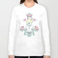 kendrawcandraw Long Sleeve T-shirts featuring King Bambi by kendrawcandraw