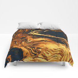 Gold Comforters