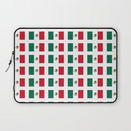 Flag of mexico 3 - mexico,mexico city,mexicano,mexicana,latine,peso,spain,Guadalajara,Monterrey Laptop Sleeve