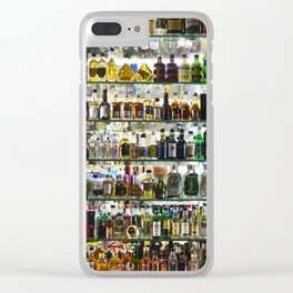 bottled happiness Clear iPhone Case