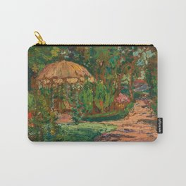 Parkland Flowers and Trees by Hélène Funke Carry-All Pouch