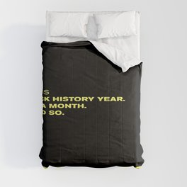 P. Diddy - Puff Daddy - Sean Combs Instagram Post 2/1/21 - Black History Month - Year Statement 889 Comforters