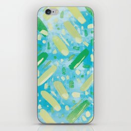 Festivities - Turquoise iPhone Skin