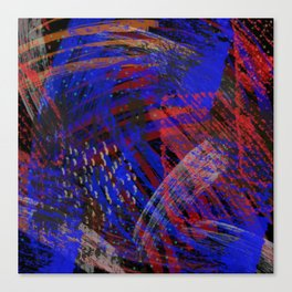 Abstract blue background Canvas Print