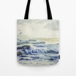 Frozen Sunrise Tote Bag