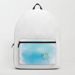 Watercolor Fish Backpack