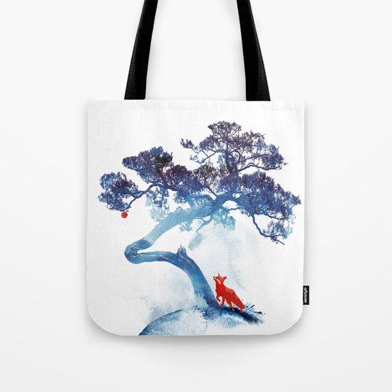 The last apple tree Tote Bag