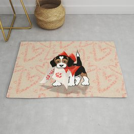 The Love Puppy — Love Letter Rug