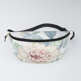 Perfect Cacti Rose Fanny Pack