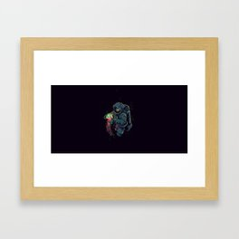 Space Jellyfish Framed Art Print