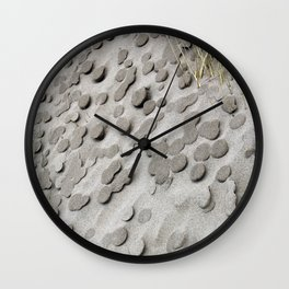 Beach Sand Dollars Wall Clock