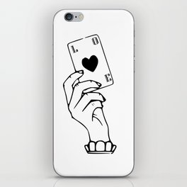 Love card iPhone Skin