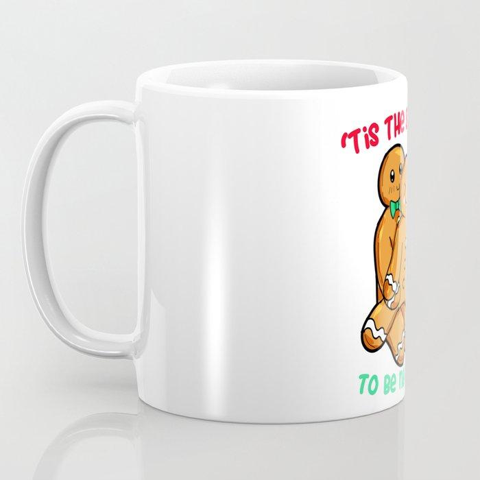 Naughty Gingerbread Couple Christmas Present funny Coffee Mug