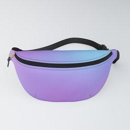 Purple Blue Watercolor Fanny Pack