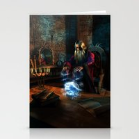 wizard Stationery Cards featuring Wizard by Digital Dreams