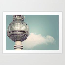 Fernsehturm Art Print