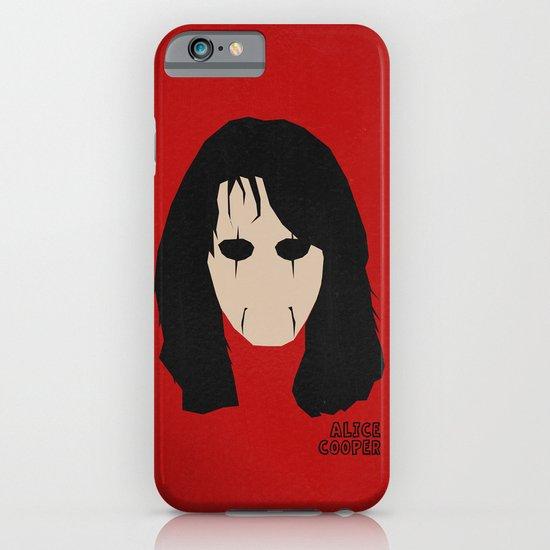 Rock Legends - Alice Cooper iPhone & iPod Case