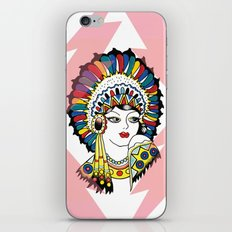 Traditional Tattoo Woman iPhone Skin