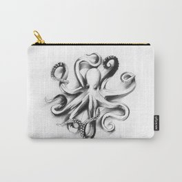 Flat Octopus Carry-All Pouch