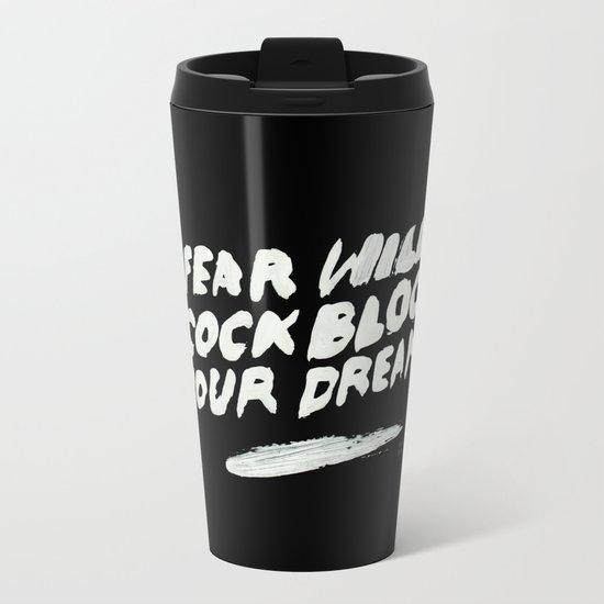 COCKBLOCK Metal Travel Mug