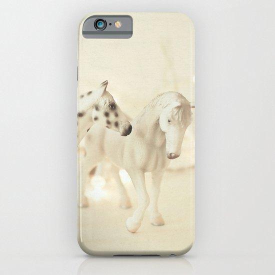White Horses iPhone & iPod Case