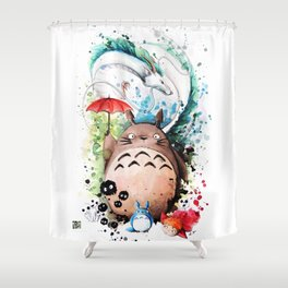 The Crossover Shower Curtain
