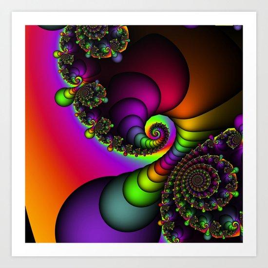 Rainbow Goddess Art Print