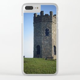 Folly on a hill Clear iPhone Case