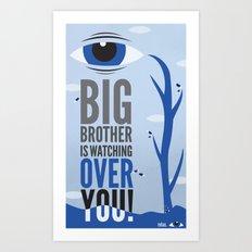 Big Brother. Art Print