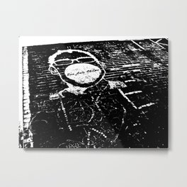 Bubble Gum Alley Metal Print