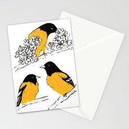 Oriole Bird Stationery Cards