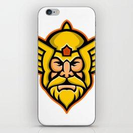Thor Norse God mascot iPhone Skin