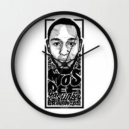 Mos Def aka Yasiin Bey / Rapper's Delight Wall Clock