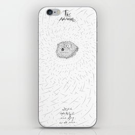 The Animals - weird, unpolished and ugly as we are #4 iPhone Skin