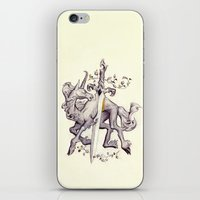 witchcraft iPhone & iPod Skins featuring Witchcraft by Janet Kim