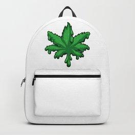 Cannabis Leaf Melts - Melting Weed - THC CBD Backpack