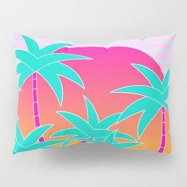 Hello Miami Sunset Pillow Sham