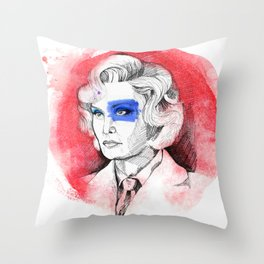 Life On Mars? Throw Pillow