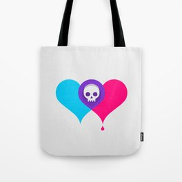 A Death-Marked Love Tote Bag