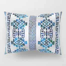 Greek Key Ornament Pillow Sham