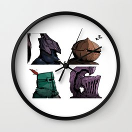 Lodran Dark Days Wall Clock