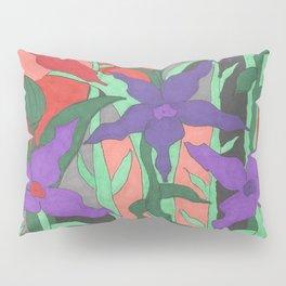 Twilight Sun Garden Floral Art Pillow Sham