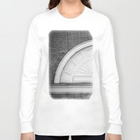 theatre Long Sleeve T-shirts featuring Theatre in a Wall by cinema4design