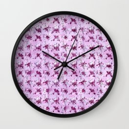 Mrs. Robinson Pattern Wall Clock